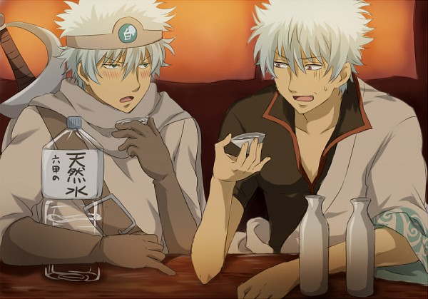 @shiroyassha *Having a drink with brother Gin.* Gintama.600.610327