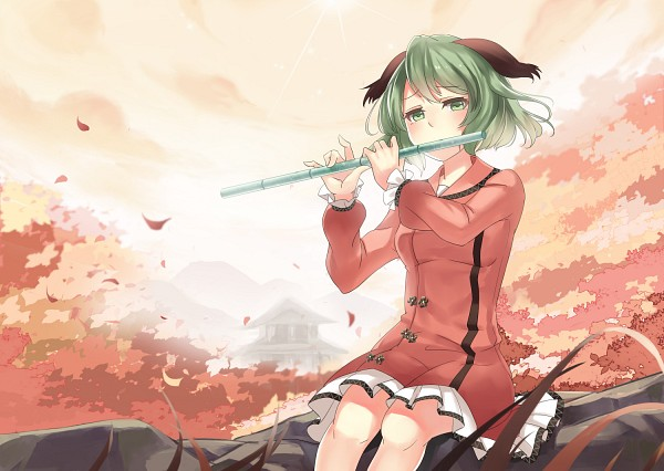 Punk rock sure is exhausting so perhaps I'll play something lighter this time. Kasodani.Kyouko