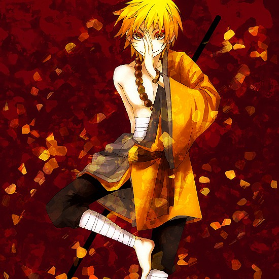 -Naruto grins as he took a stance with his sage mode activated and a staff in his hand- Lets see wha