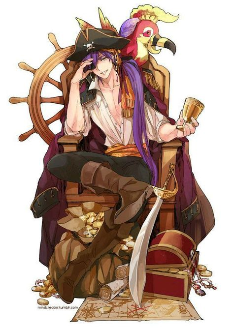 *Meanwhile on another ship, the Ronin Swashbucklers got word that their rivals, the Odd Jobs Bandits