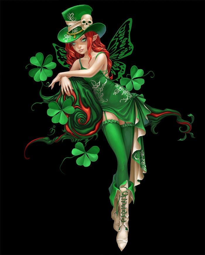 May the Luck of the Irish be with you! ;) Looks like we need to tell the Leprechauns, it's tha