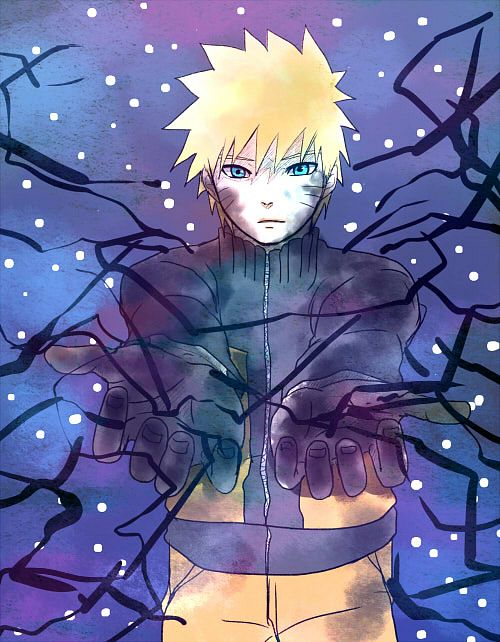 -Naruto would wonder into a dark and unknown place as he ventured deeper into the void he was soon c
