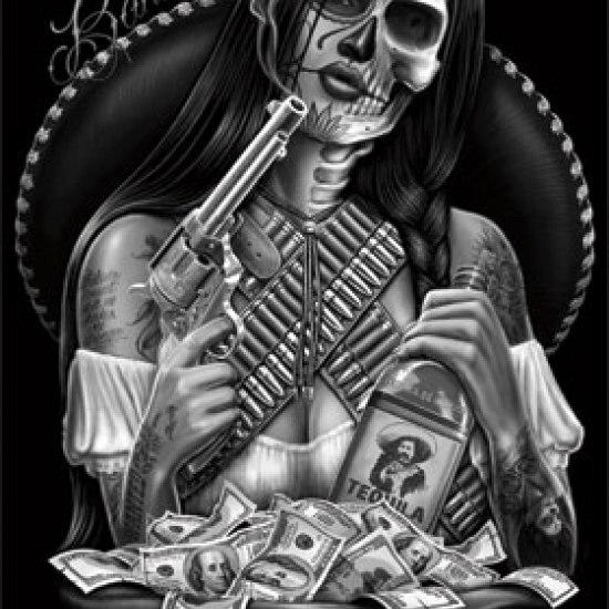 Bandida-Lowrider-Arte-Laminated-Poster-Print-24-x-36