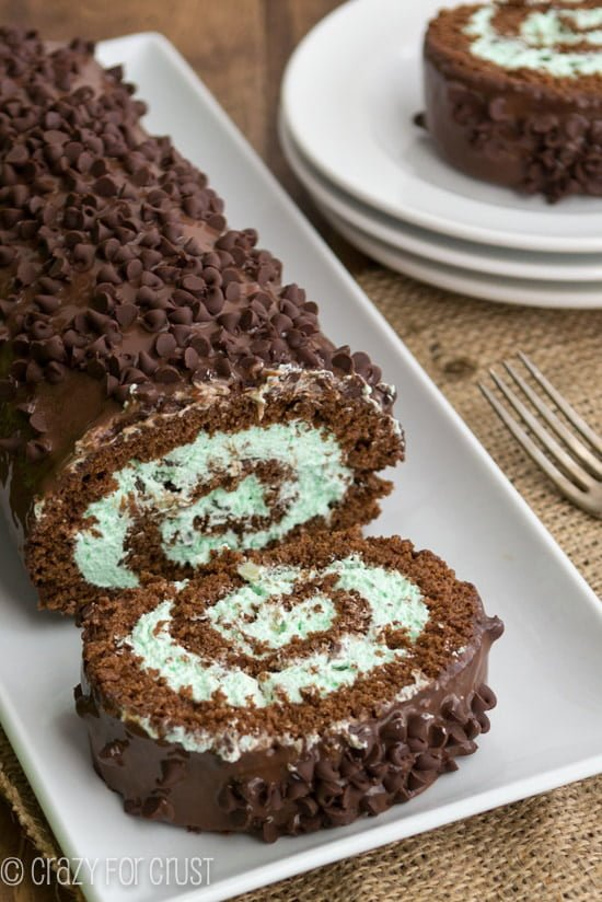 Mint-Chip-Cake-Roll