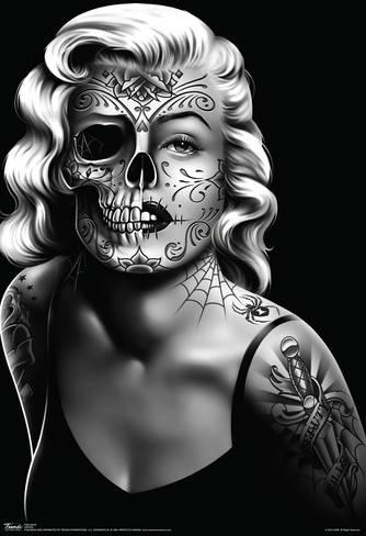 daygirl-skull-face-poster_a-G-12925518-0