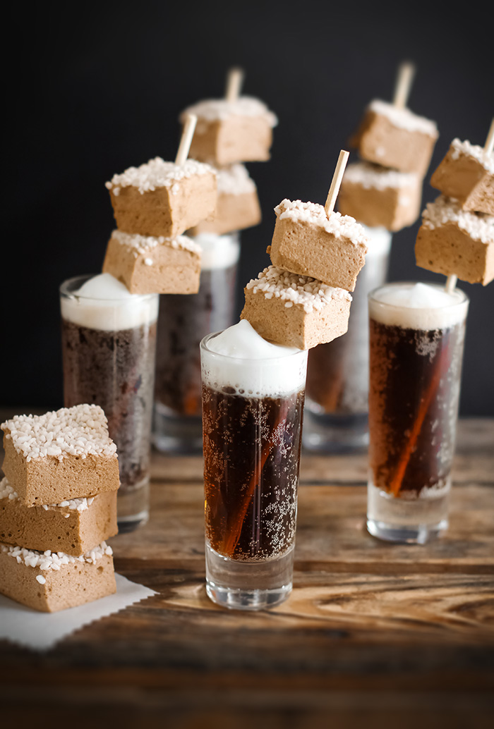 *brings out the root beer float marshmallows* Enjoy minna!root beer marshmallows