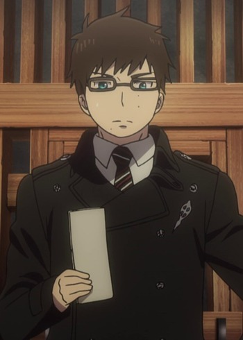 *Yukio drives towards his mother's bakery. He still has time before heading to the academy. He