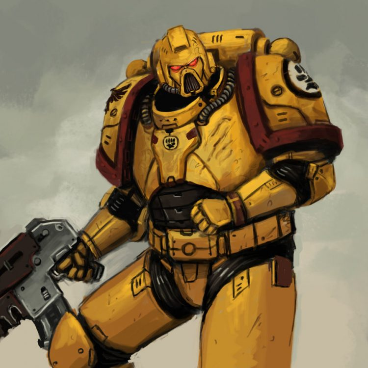 You see a bolter, I see a solution. You see an Astartes, I see a brother. A581924A-E54B-487C-83F9-22