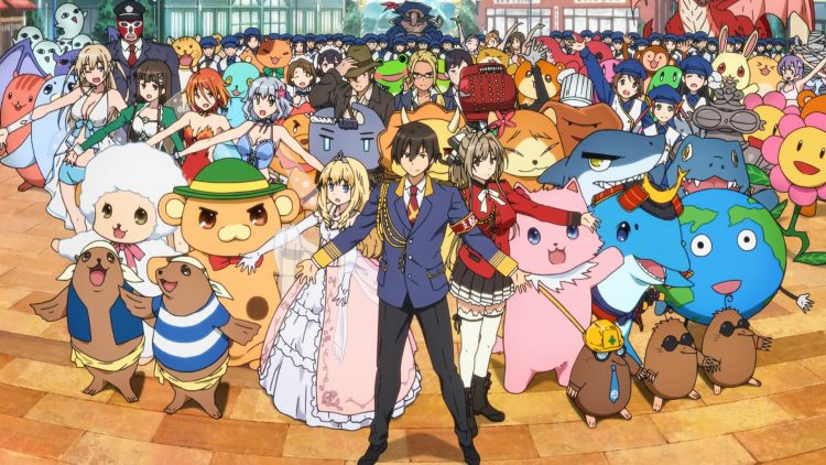 Amagi Brilliant Park: Most people will do whatever they're told when someone points a musket at th