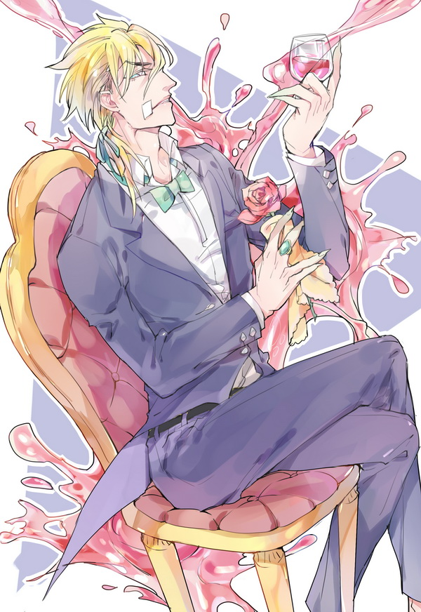 *Diego stopped in an amazing nightclub to indulge in a a bit of music and a drink.*Diego.Brando.full