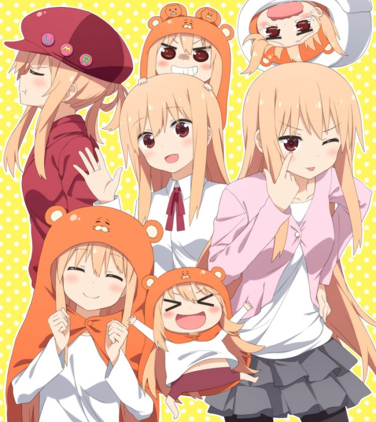 Himouto Umaru-Chan: We all act differently from time to time but what about polar opposites? In publ