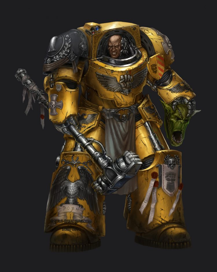 Fear the might of the Imperial Fist! 63B0D03F-A7CF-40EE-8B6E-DEE8969DA8C2