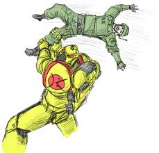 //Guardsmen are trained to be weapons in emergencies. Just kidding but if anyone wants a laugh googl