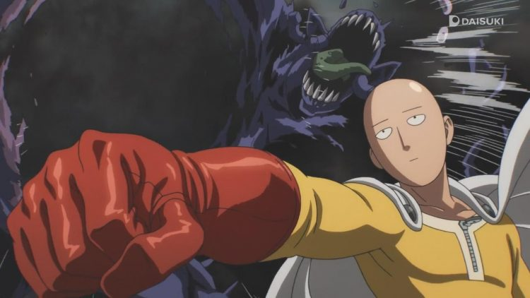Another monster! *punch* One-Punch-Man-01-032
