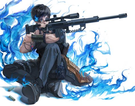 *Yukio prepared himself to defend the school, the students and the surrounding inhabitants in the ar