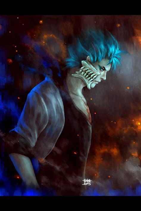 *Grimmjow was quietly focusing. He was hunting down any scent of Pestilence and Famine in order to c
