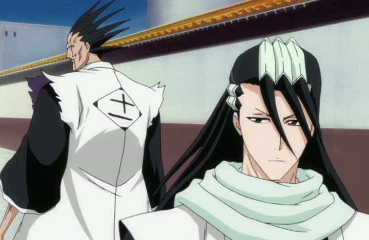 *Leaving the Soul Society with Kenpachi after Lord Hadesu @ukyoamnesia had given them a specific tas