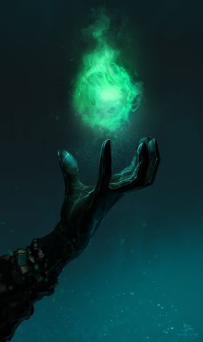 *Once he gets to the building he begins to focus on an orb that he will soon enlarge and create to a