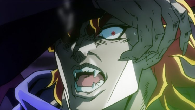 *Even though Dio was facing Jonathan deep within the Dungeons og Ruins of Svartur Sykurfjall. He sen