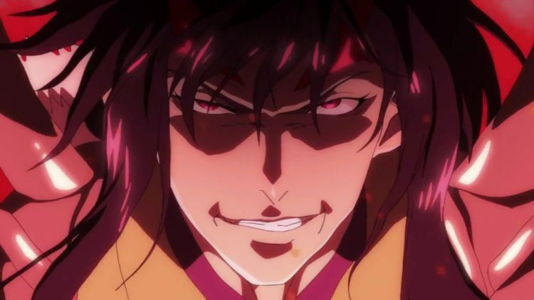 *Shuza was some distance behind Takamotou watching as the gates of Hades opened and the fiery orange