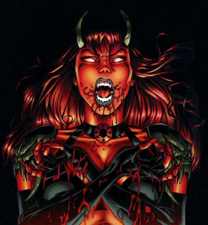 *Kaname had fought for so long in her Purgatori form, that she had not dared to step inside the infi