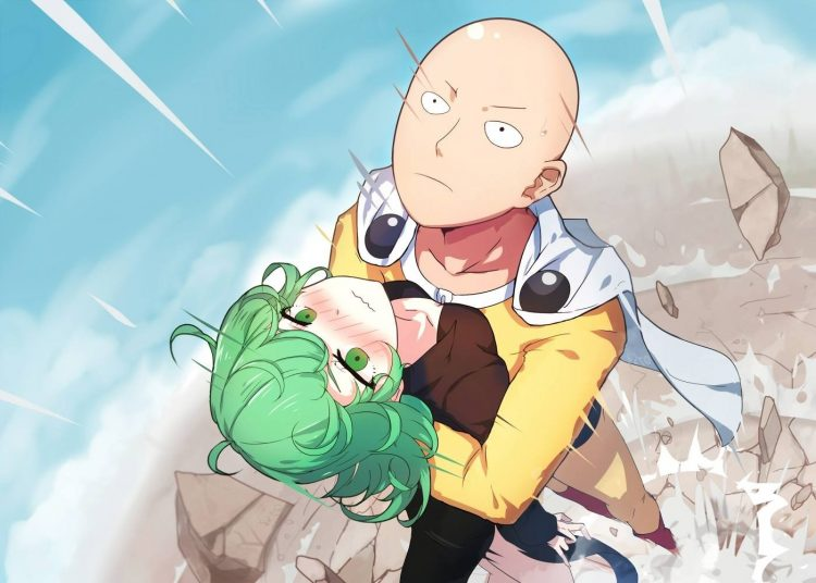 *Saitama flashed to her side in no time and caught her as she was falling.* Don't you think yo