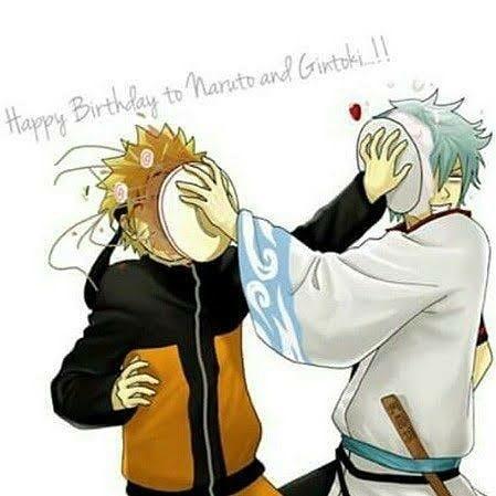 // Happy Birthday October babies! And Happy Birthday Gin boss and Naruto kun ;) @shiroyassha @naruto