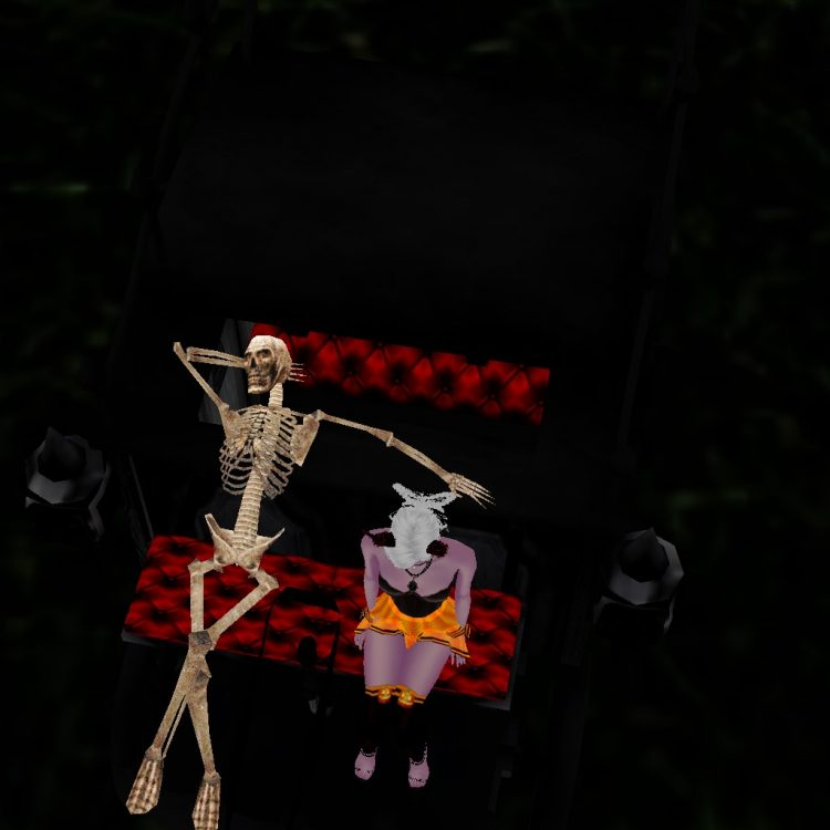 That skeleton better be careful with that hand! Lol!! 482E7AA5-57E6-4608-B414-63D1F1D1043A