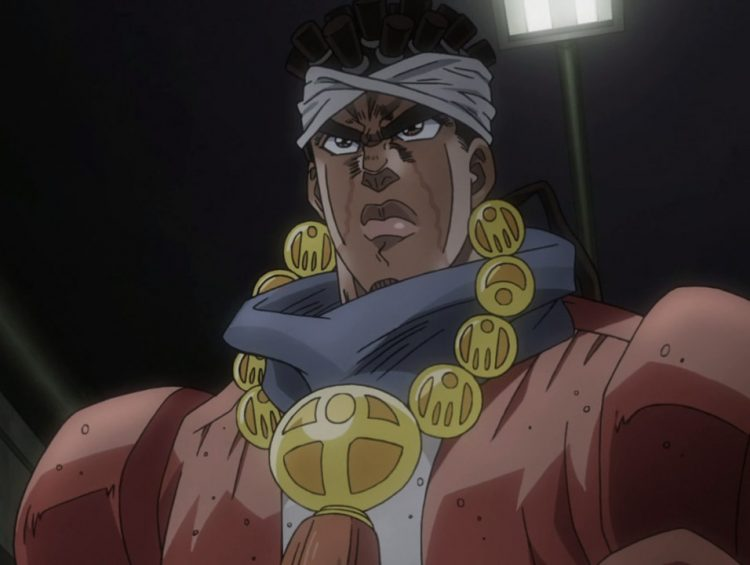 *Avdol had his wounds treated and quickly went to check on Polnareff @polnareff and Kakyoin @kakyoin