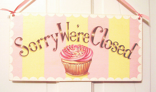 DUE TO UNFORESEEN CIRCUMSTANCES, OUR BAKERY IS TEMPORARILY CLOSED! Closed