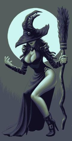 // I'm in a witchy kind of mood today….jejejejejeje… Sexy Witch