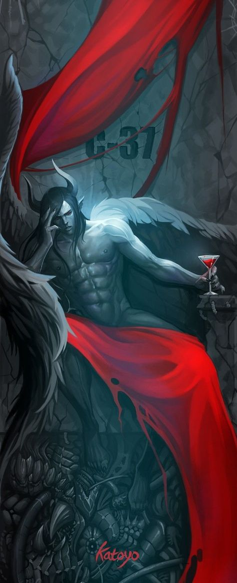 *Satan sat deep within the dark caverns of the inferno. He snapped his fingers and a stone door open