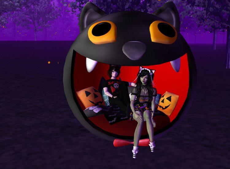 @gattakawaii Happy Halloween! danielandcindyimvuhalloween