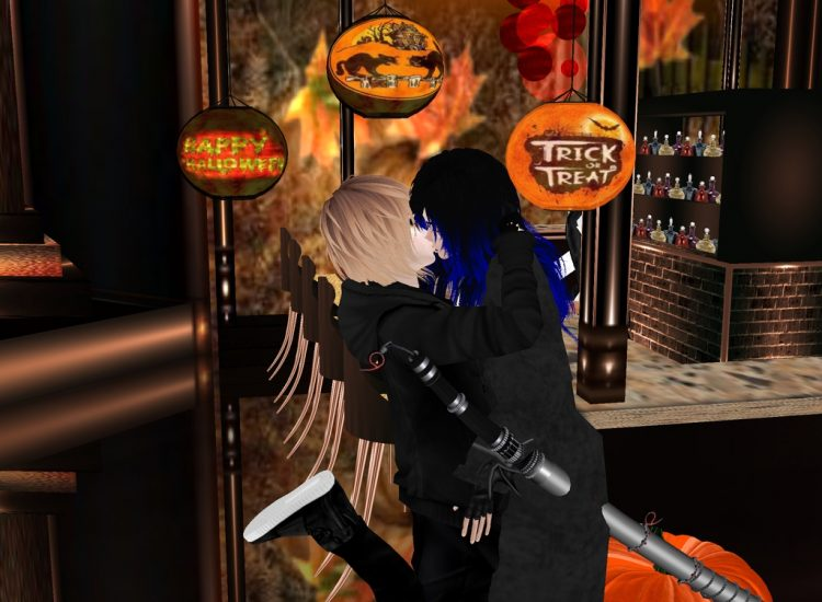 *unexpected kiss from Albertus* Happy Halloween! :) @magus-albertus-frazer izumiandalbertusimvuhallo