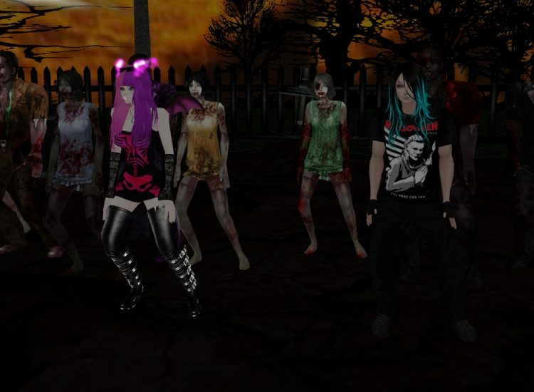 // *cough* I hope those people behind us are in costume!…… :) @assassinalvaro leviachana