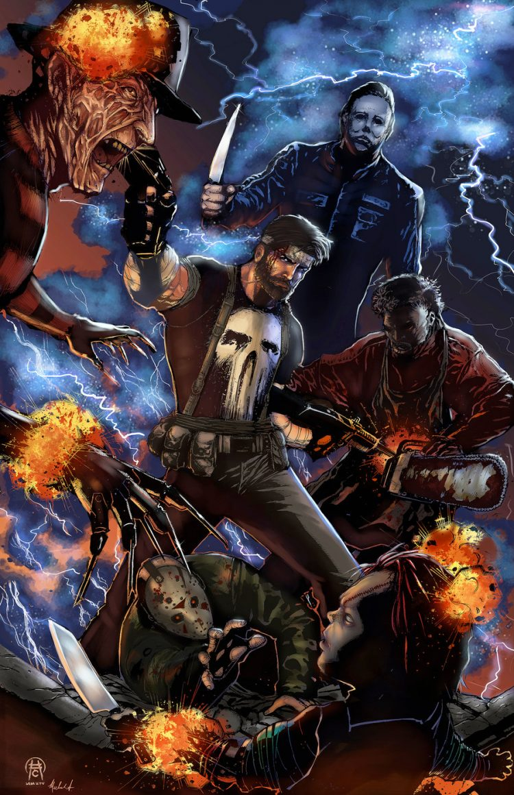 // Not even Punisher can get away with them! punisher__descent_into_darkness