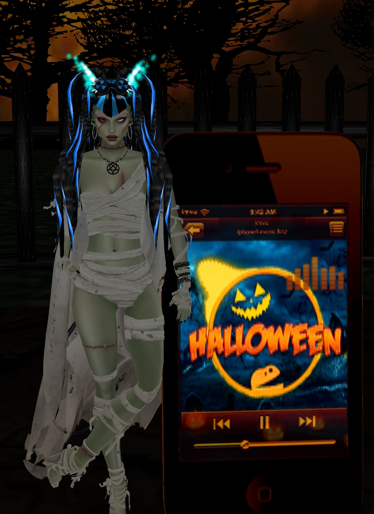 """*Listening to some Halloween Sounds…..* """"Listen to the children of the night, what beaut"""