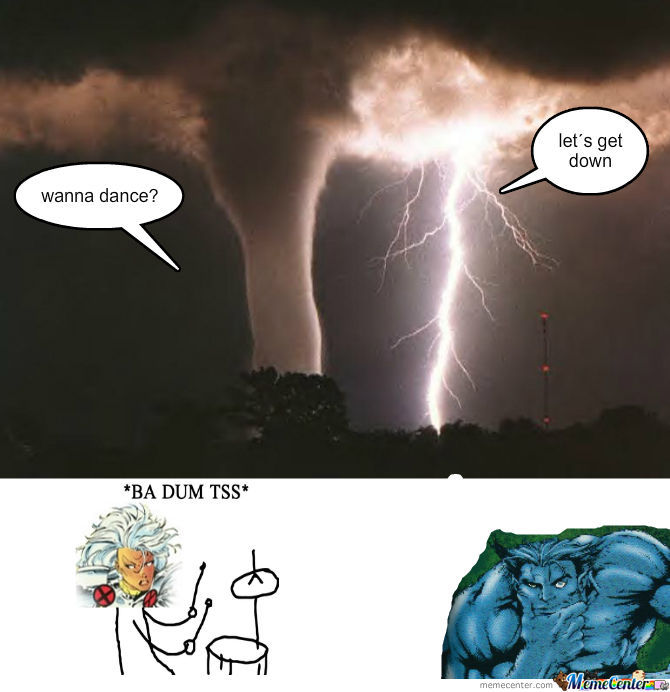 …. This exclusive just came in thanks to Purge san, out on the scene doing some weather reports…