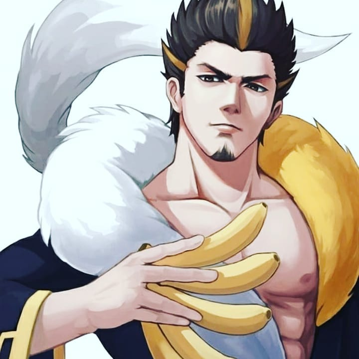 // Oooh minna! I'm grateful for all your love and friendship but especially for all the banana