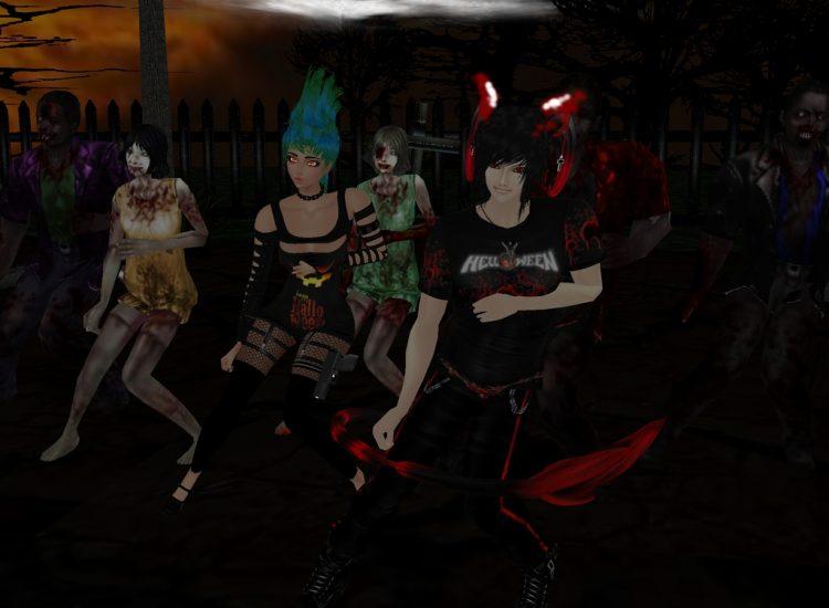 *zombie dance time* @crimsonflamesoul haruandnight4imvu