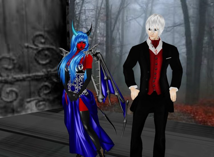 *Enjoying halloween with my beloved hubby* @akutososky kanameandzeroakutososkyimvuhalloween
