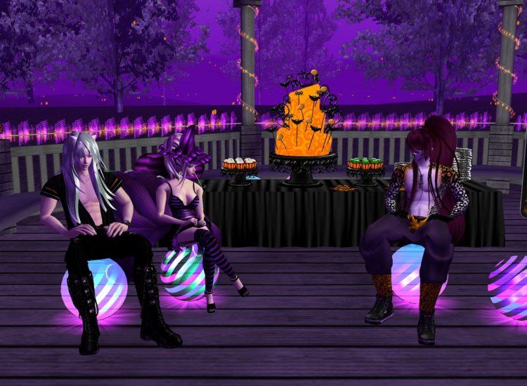 *Leo, Kiyoshi and me getting some of those infamous halloween snacks* @charmingsilver @ironheart ren