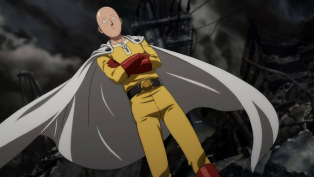 *Saitama had landed to get updates from Captain Yami @blackbullcaptain and learned there was a group