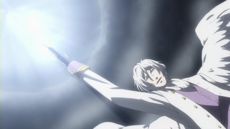 *Doing his best to use his earth seraphic powers to keep everyone safe against Helena's higher
