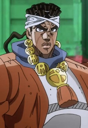 *Since Kakyoin had many visitor in the room. Avdol decided he would find Dr. Yukiko, he wanted to th