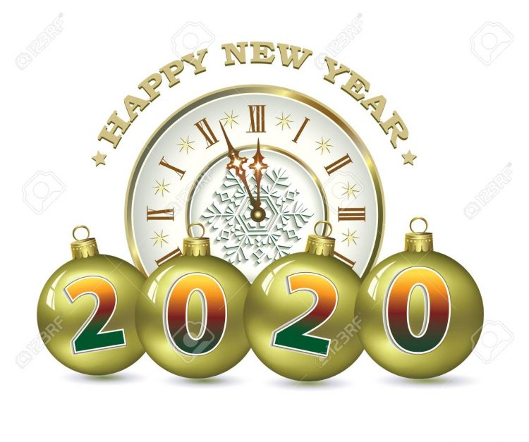 // Happy New Year! from everyone at WildSide Diner! // 128872478-happy-new-year-2020-christmas-card-