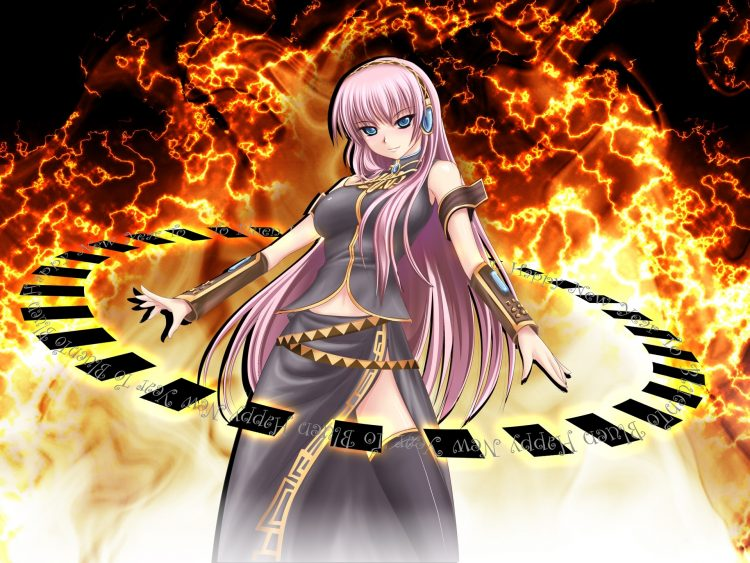 *With my magic I can also unleash a few flames here and there ;) * 3320022-megurine-luka-girl-blue-e