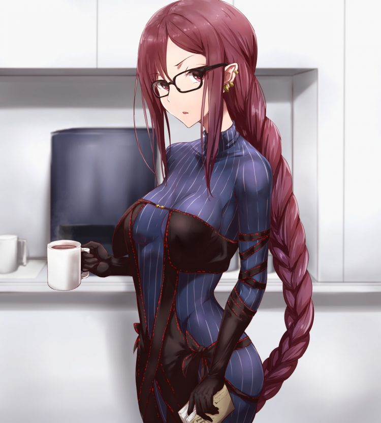 *Yukiko went to get her coffee. She felt her cell phone vibrate several times. Once she sat down she