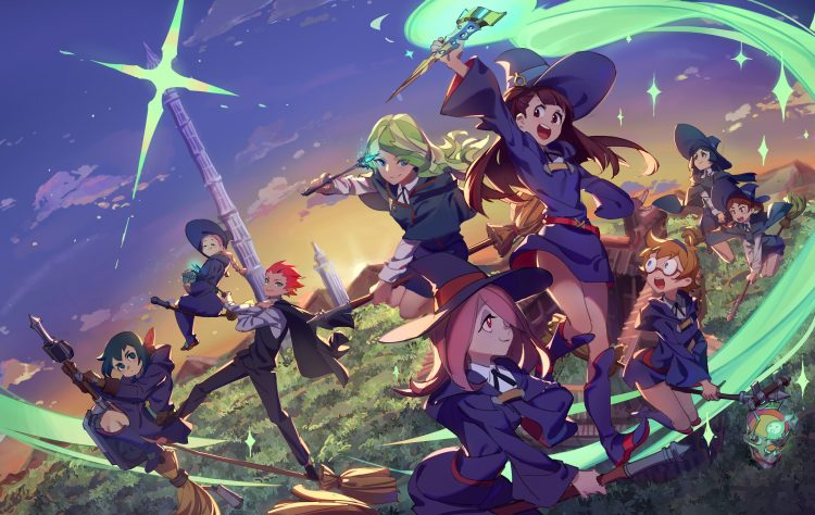 Little Witch Academia: Who doesn't love an underdog? How about a feel good romp? A VERY animated s