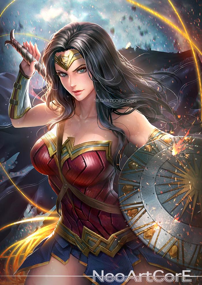 @sweetsugardemon // Happy Birthday Wonder Woman (Helena)! ;) Let's work together soon! Wonder.